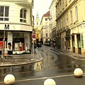 Vienna Corner After The Rain by Ian  MacDonald