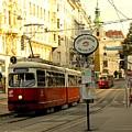 Vienna Streetcar by Ian  MacDonald