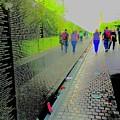 Viet Nam Memorial by Scott L Holtslander