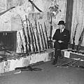 Viet Nam Vet John Dane With His Weapons Collection American Fork Utah 1975 by David Lee Guss
