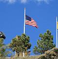 Vietnam Memorial Angel Fire New Mexico by Judithann O'Toole