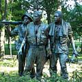 Vietnam War Memorial Statue by Daniel Hebard