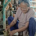 Vietnamese Potter by Dot Lestar