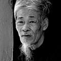 Vietnamese Village Elder by Randy Cummings