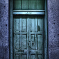 Vieux Carre' Doorway At Night by Tammy Wetzel