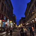 Vieux Montreal Twilight 001 by Lance Vaughn