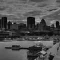 Vieux Port Montreal 001 Bw by Lance Vaughn