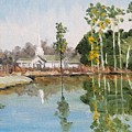 View Across The Pond by James H Phillips