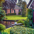 View At Old Church  In Dutch Village by Ariadna De Raadt
