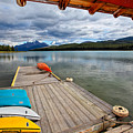 View From A Boathouse by George Oze