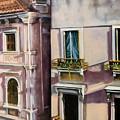 View From A Venetian Window by Marlene Book