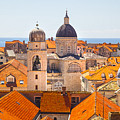 View From Above Of Dubrovnik by Sandra Rugina