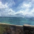 View From Bermuda Naval Fort by Luther Fine Art