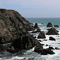 View From Bodega Head In Bodega Bay Ca - 5 by Christy Pooschke