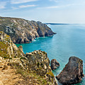 View From Cabo Da Roca, The Western Point Of Europe, Portugal by Dragomir Nikolov
