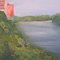 View From Edmund Pettus Bridge by Patricia Caldwell
