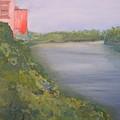 View From Edmund Pettus Bridge by Patricia Caldwell