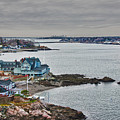 View From Marblehead Lighthouse by Jeff Folger