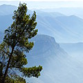 View From Montserrat, Spain by Barbara Ebeling