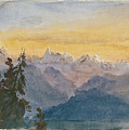View From Mount Pilatus by John Singer Sargent
