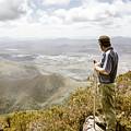 View From Mt Zeehan Tasmania by Jorgo Photography - Wall Art Gallery