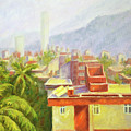 View From Our Balcony by Uma Krishnamoorthy