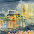 View From Quay Singapore by Melly Terpening