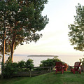 View From Ring Dang Doo South Hero Vermont by Felipe Adan Lerma