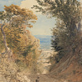 View From Rook's Hill, Kent by Samuel Palmer