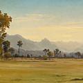 View From Schoenbuehl Toward The Vitznauerstock by Robert Zuend