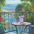 View From The Balcony by Carolyn Paterson