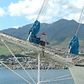 St. Kitts From The Bow by Neil Zimmerman