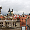 View From The Top In Prague by Madeline Ellis