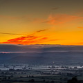 View From The Top Of Glastonbury Tor At Sunrise by Jacek Wojnarowski