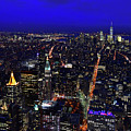 View From The Top Of The Empire State Building by Clint Buhler