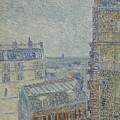 View From Theo S Apartment Paris, March - April 1887 Vincent Van Gogh 1853  1890 by Artistic Panda