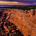 View From Upper Ute Canyon, Colorado National Monument by TL Mair