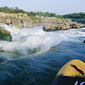 View From Whitewater Kayak At The Top by Skip Brown