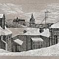 View From Window. Kiev by Olena Chernyshova