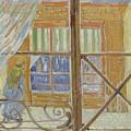 View Of A Butcher S Shop Arles, February 1888 Vincent Van Gogh 1853  1890 by Artistic Panda