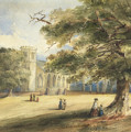 View Of A Churchyard, Southborough, Kent by Anonymous