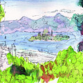 View Of Alcatraz by Christopher O'Kelley