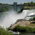 View Of American Niagara Falls by Jeff Folger
