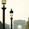 View Of Arc De Triomphe by Christine Jepsen