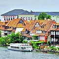 View Of Bamberg Riverfront by Kirsten Giving