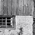 View Of Barn Exterior by Kristi Beers-Mason