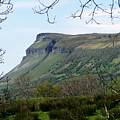 View Of Benbulben From Glencar Lake Ireland by Teresa Mucha
