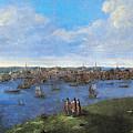 View Of Boston, 1738 by Granger