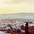 view of Buildings around Athens city, Greece by Otto