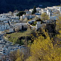 View Of Capileira Village In The Alpujarras Mountains In Andalusia by Sami Sarkis